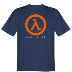 Мужская футболка Half-life logotype