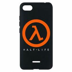 Чехол для Xiaomi Redmi 6A Half-life logotype