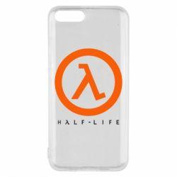 Чехол для Xiaomi Mi6 Half-life logotype
