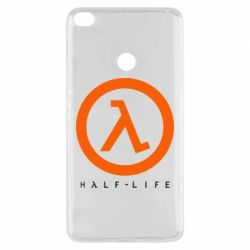 Чехол для Xiaomi Mi Max 2 Half-life logotype