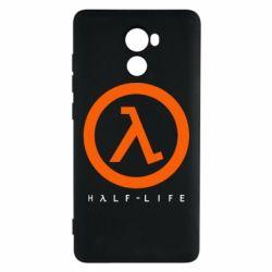 Чехол для Xiaomi Redmi 4 Half-life logotype