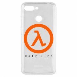 Чехол для Xiaomi Redmi 6 Half-life logotype