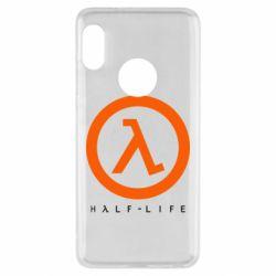 Чехол для Xiaomi Redmi Note 5 Half-life logotype