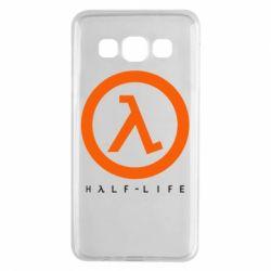 Чехол для Samsung A3 2015 Half-life logotype