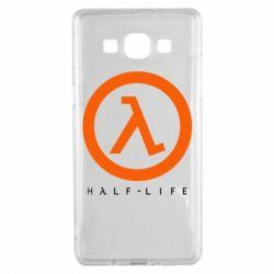 Чехол для Samsung A5 2015 Half-life logotype