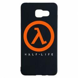 Чехол для Samsung A5 2016 Half-life logotype