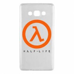 Чехол для Samsung A7 2015 Half-life logotype