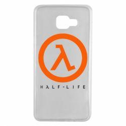 Чехол для Samsung A7 2016 Half-life logotype