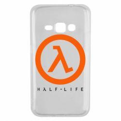 Чехол для Samsung J1 2016 Half-life logotype
