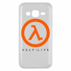Чехол для Samsung J2 2015 Half-life logotype