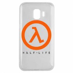 Чехол для Samsung J2 2018 Half-life logotype