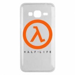 Чехол для Samsung J3 2016 Half-life logotype