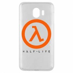 Чехол для Samsung J4 Half-life logotype