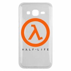 Чехол для Samsung J5 2015 Half-life logotype