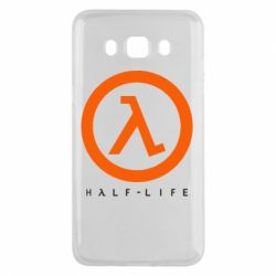 Чехол для Samsung J5 2016 Half-life logotype