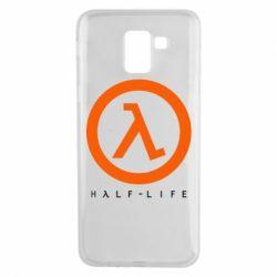 Чехол для Samsung J6 Half-life logotype