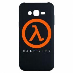 Чехол для Samsung J7 2015 Half-life logotype