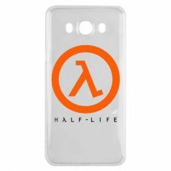 Чехол для Samsung J7 2016 Half-life logotype