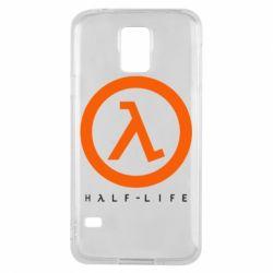 Чехол для Samsung S5 Half-life logotype