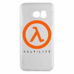 Чехол для Samsung S6 EDGE Half-life logotype