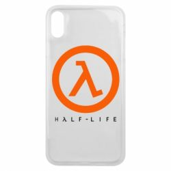 Чехол для iPhone Xs Max Half-life logotype