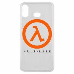 Чехол для Samsung A6s Half-life logotype
