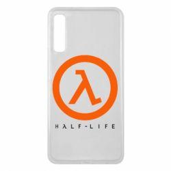Чехол для Samsung A7 2018 Half-life logotype