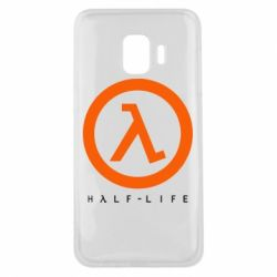 Чехол для Samsung J2 Core Half-life logotype