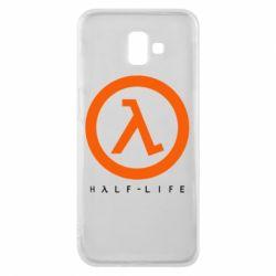 Чехол для Samsung J6 Plus 2018 Half-life logotype