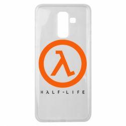 Чехол для Samsung J8 2018 Half-life logotype