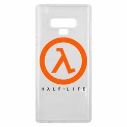 Чехол для Samsung Note 9 Half-life logotype