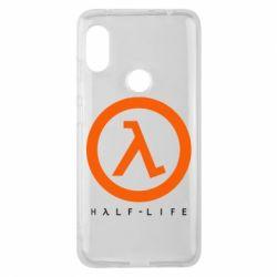 Чехол для Xiaomi Redmi Note 6 Pro Half-life logotype