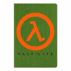 Блокнот А5 Half-life logotype