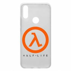 Чехол для Xiaomi Redmi 7 Half-life logotype