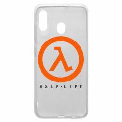 Чехол для Samsung A20 Half-life logotype