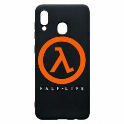 Чехол для Samsung A30 Half-life logotype