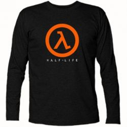 Футболка с длинным рукавом Half-life logotype