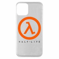 Чехол для iPhone 11 Half-life logotype