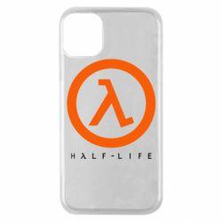 Чехол для iPhone 11 Pro Half-life logotype
