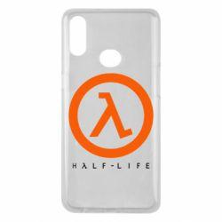 Чехол для Samsung A10s Half-life logotype