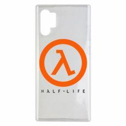 Чехол для Samsung Note 10 Plus Half-life logotype