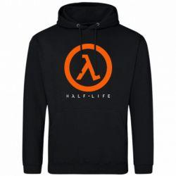 Мужская толстовка Half-life logotype