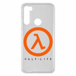 Чехол для Xiaomi Redmi Note 8 Half-life logotype