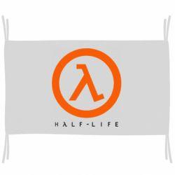 Флаг Half-life logotype