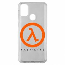 Чехол для Samsung M30s Half-life logotype