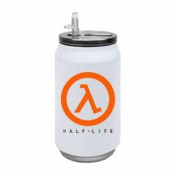 Термобанка 350ml Half-life logotype