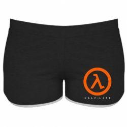 Женские шорты Half-life logotype