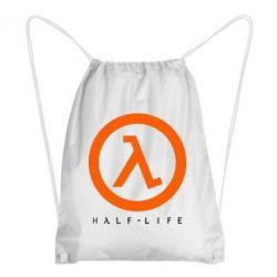 Рюкзак-мешок Half-life logotype