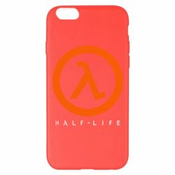Чехол для iPhone 6 Plus/6S Plus Half-life logotype