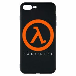 Чехол для iPhone 7 Plus Half-life logotype